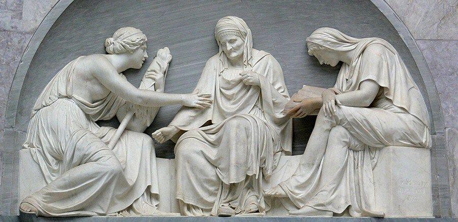 Θεότητες που εκφράζουν τη μοίρα